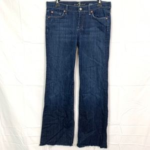 7 SEVEN FOR ALL MANKIND Dojo Flare Jeans sz 29x32